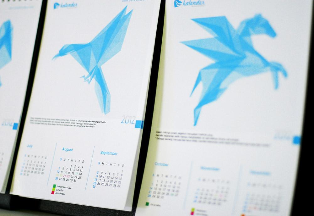 kalender promosi perusahaan jasa