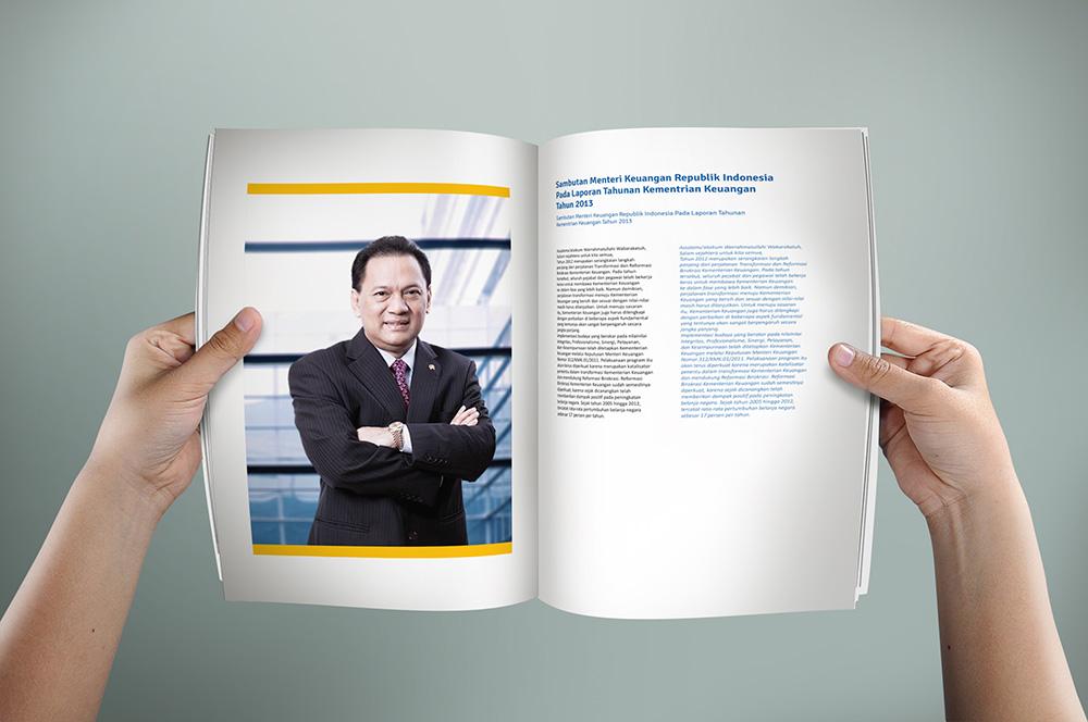 desain annual report design kemenkeu dirjen perbendaharaan 3