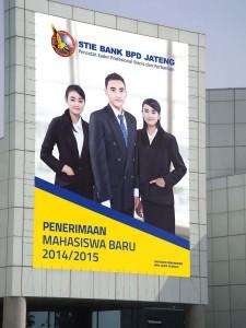 Desain-baliho-sekolah-universitas-STIE-bank bpd jateng-2014