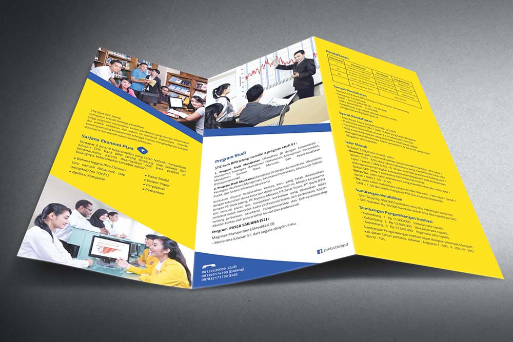Desain-brosur-sekolah-universitas-STIE-bank bpd jateng-2014-dalam