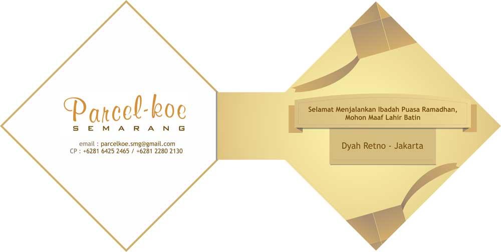 Desain Kartu Ucapan Parcel | Sooca Design Firm