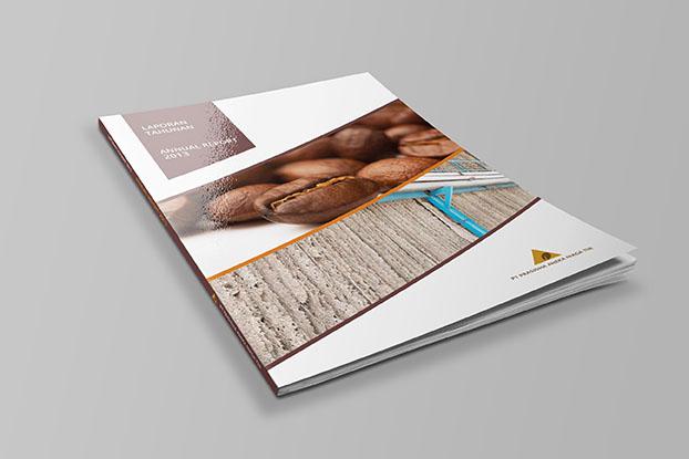 Jasa pembuatan Desain Annual report PT Prasidha tbk 2013 1