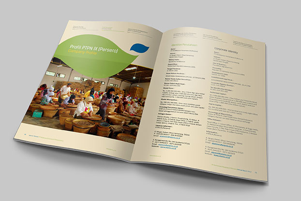 Jasa-pembuatan-Desain-Annual-report-PTPN IX 2013-2