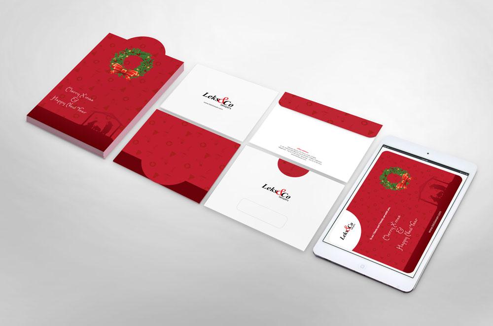 Jasa Desain Kartu Ucapan Natal dan Tahun Baru Profesional
