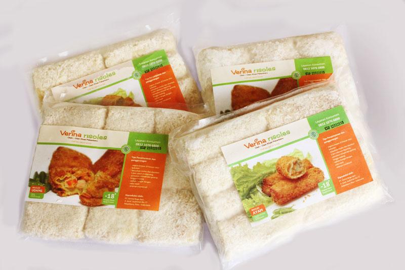 jasa desain kemasan makanan khas pekanbaru verina risoles