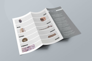 Desain Brosur Museum Ranggawarsita-Semarang-Grey Brochure Mock-up 2