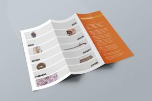 Desain Brosur Museum Ranggawarsita-Semarang-ORANGE Brochure Mock-up 2