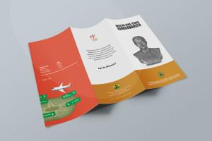 Desain Brosur Museum Ranggawarsita-Semarang-ORANGE Brochure Mock-up 4