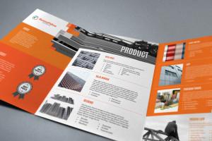 jasa desain company profile perusahaan konstruksi Buana Paksa mockup bp 2