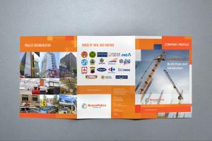 jasa desain company profile perusahaan konstruksi Buana Paksa mockup bp 3