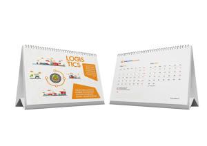 jasa desain kalender meja perusahaan AP logistic_3