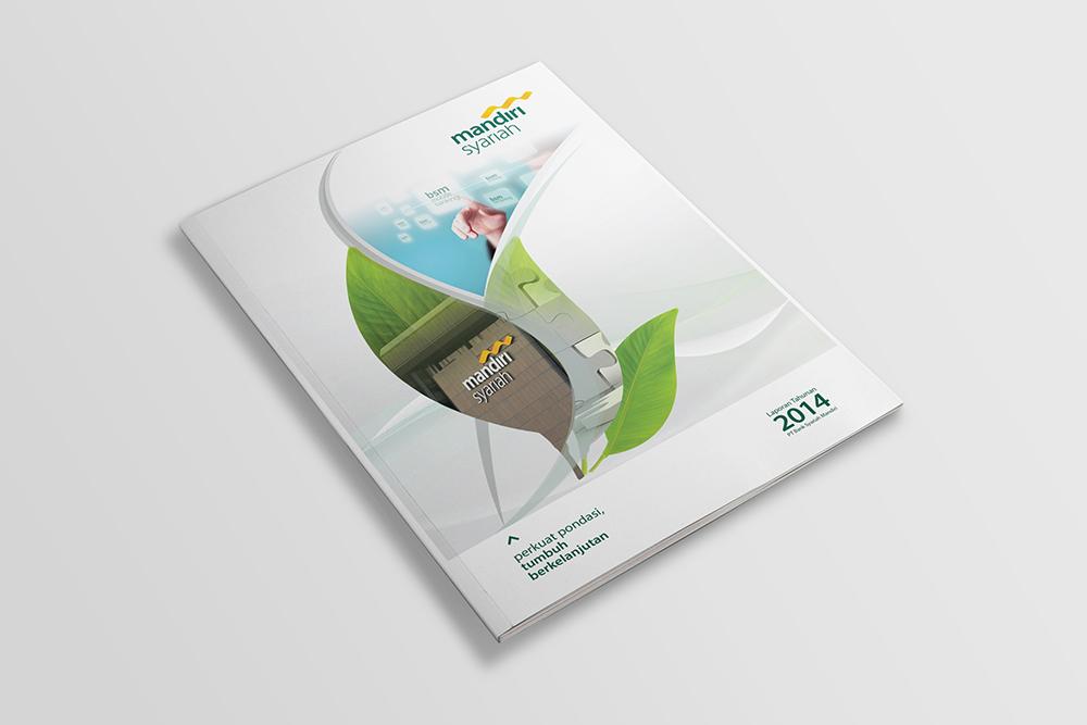 Jasa pembuatan desain annual report bank syariah-BSM 1