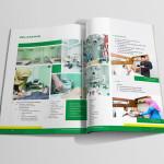jasa desain company profile rumah sakit Mock Up Roemani 4