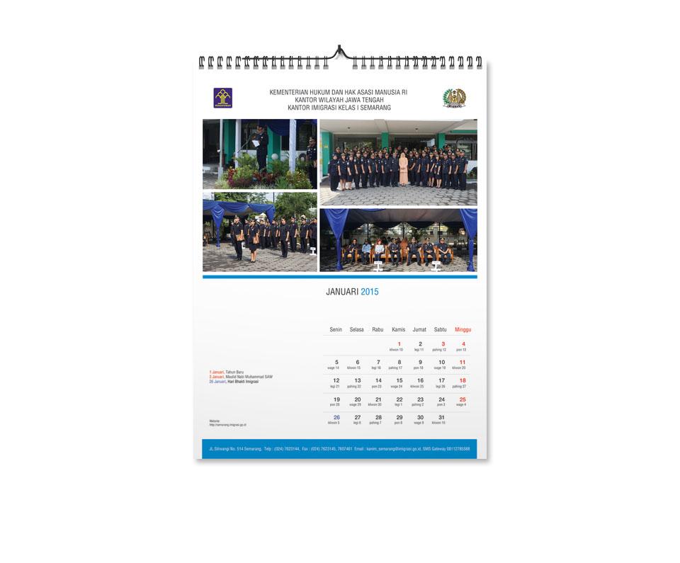 jasa-desain-kalender-pemerintah-kementrian-dirjen imigrasi semarang-Dinding1