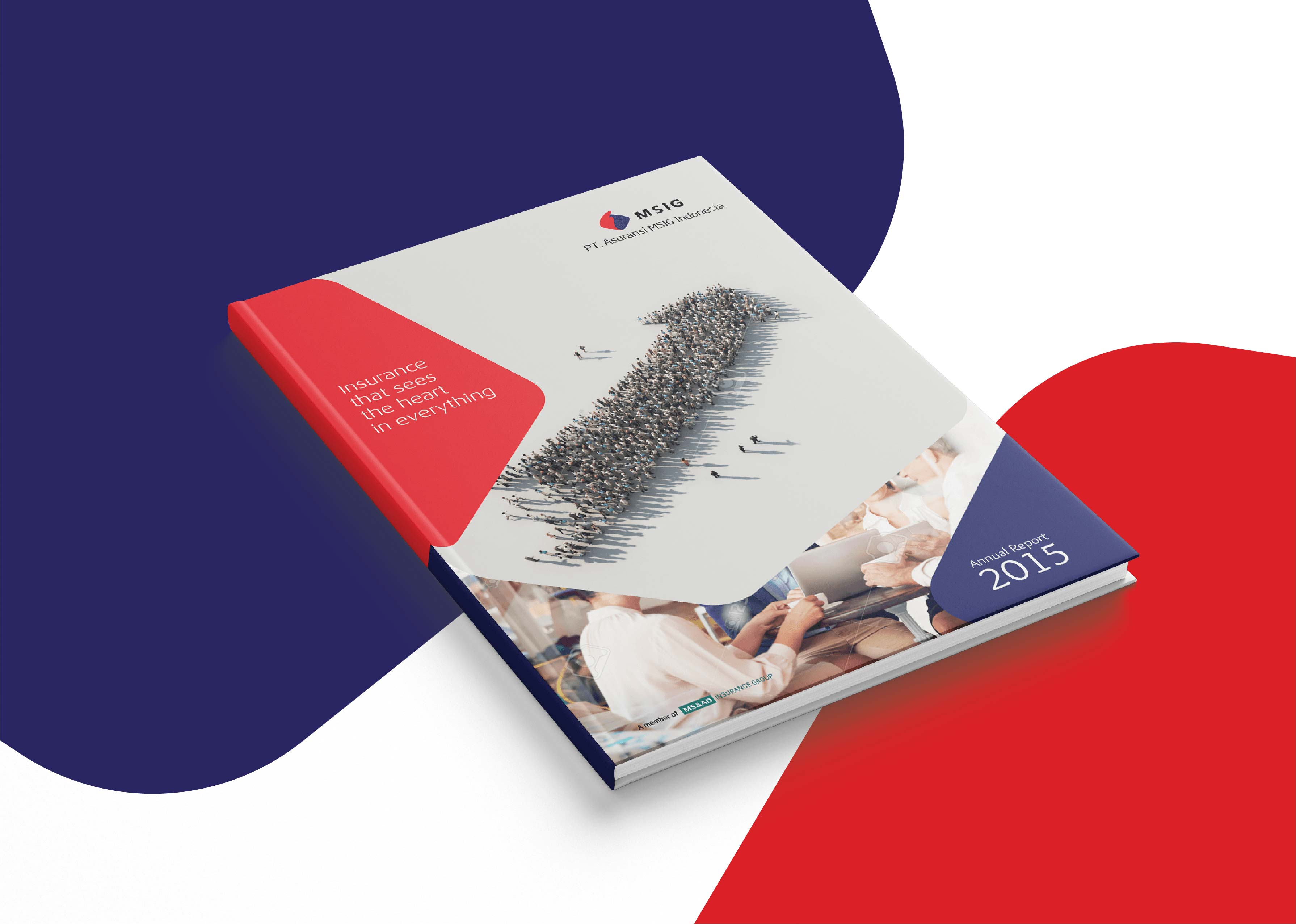 Jasa Desain Annual Report Perusahaan MSIG Th 2015 01