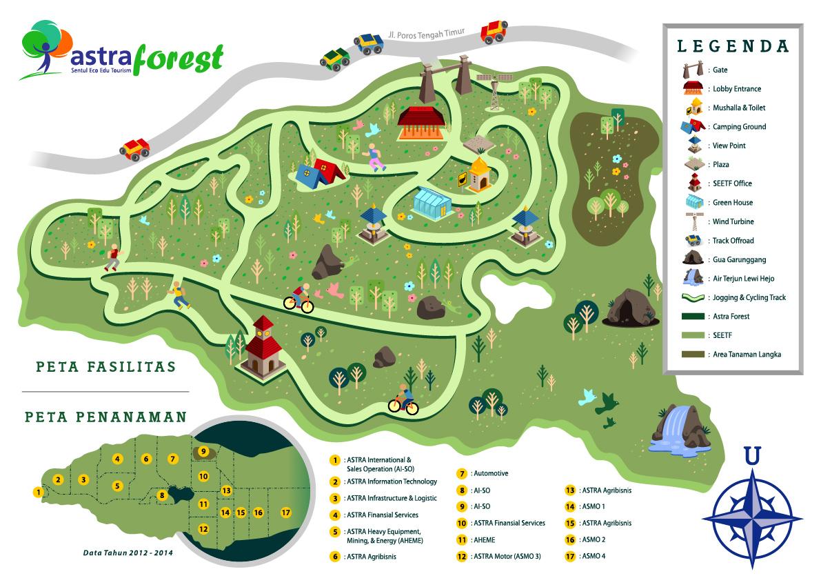 Jasa Desain Peta Wilayah dengan Infografis Menarik