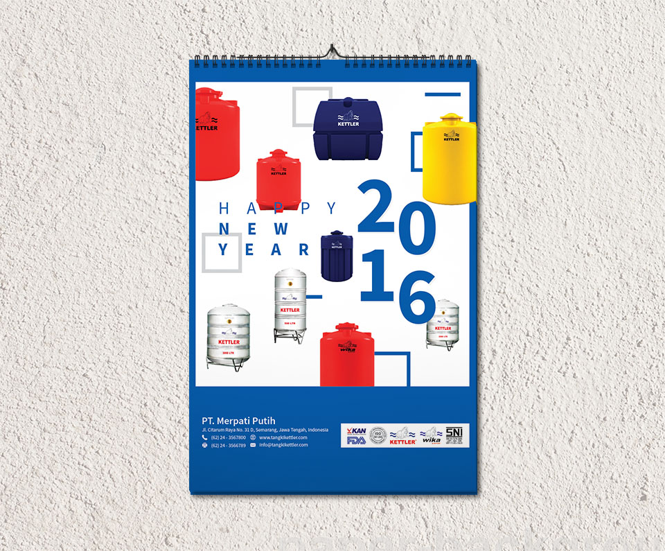 kalender merpati putih 1