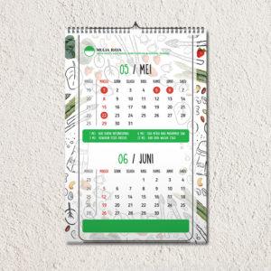 Jasa pembuatan desain dan cetak kalender profesional