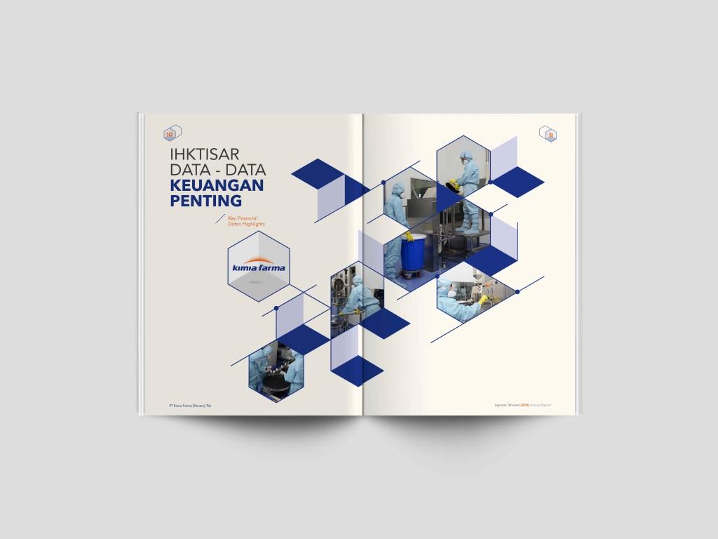 jasa pembuatan desain annual report perusahaan kimia farma 2