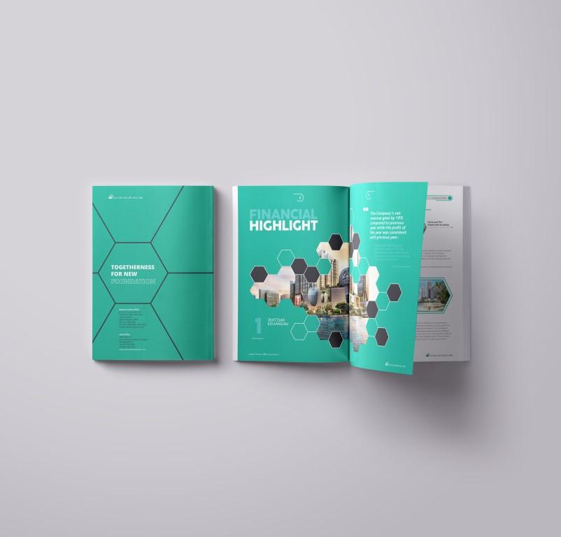 jasa pembuatan desain annual report perusahaan properti ciputra-1