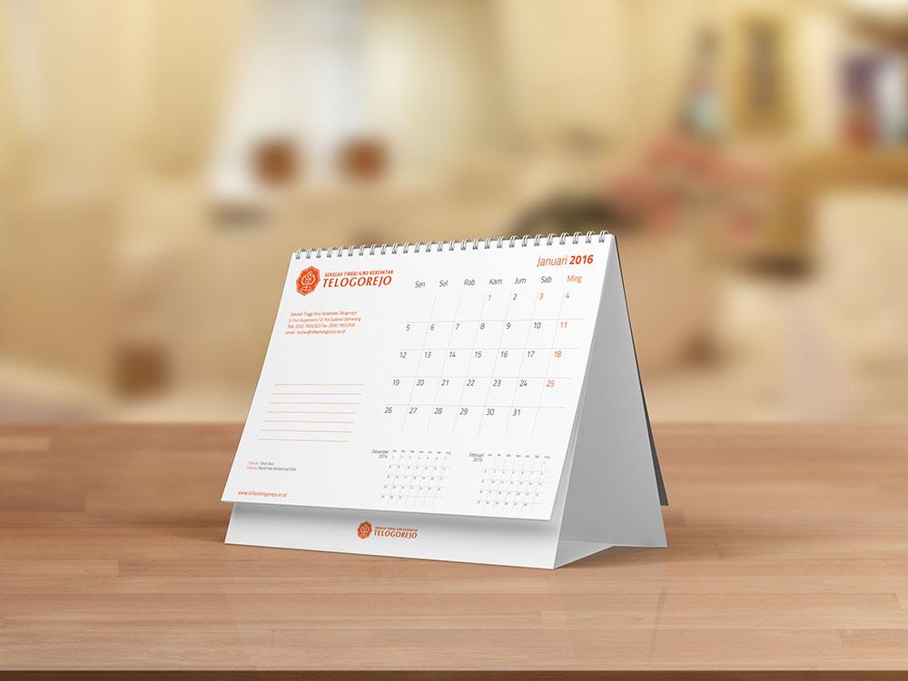jasa pembuatan desain kalender perusahaan stikes tlogorejo 4