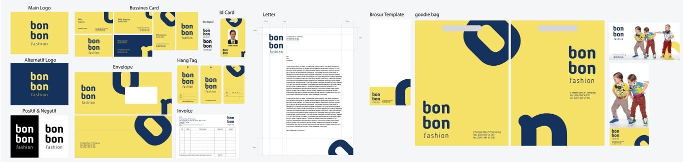 jasa pembuatan desain stationary set perusahaan bonbon fashion 11 3