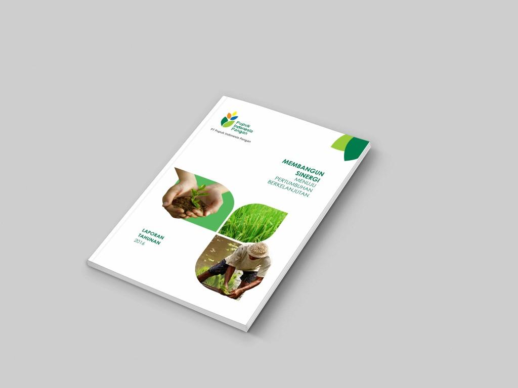 jasa pembuatan desain annual report perusahaan Pupuk Indonesia Pangan (PIP)-1