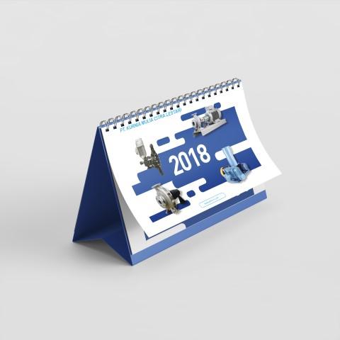 jasa pembuatan desain kalender perusahaan kurnia mulia citra lestari 1