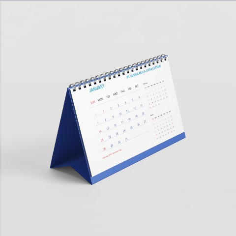 jasa pembuatan desain kalender perusahaan kurnia mulia citra lestari 2