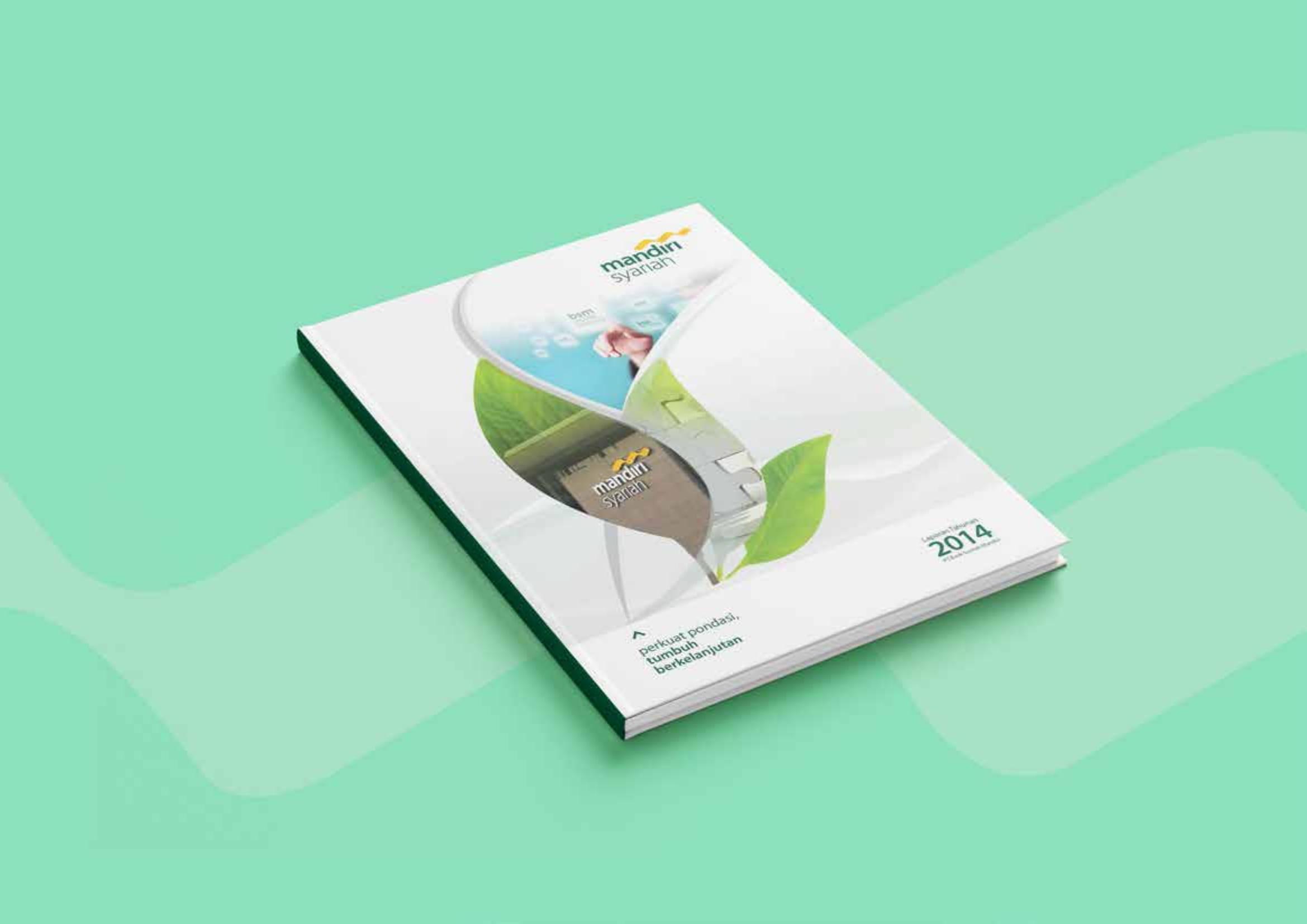 Jasa Desain Annual Report Perusahaan Bank Syariah Mandiri 2014 01