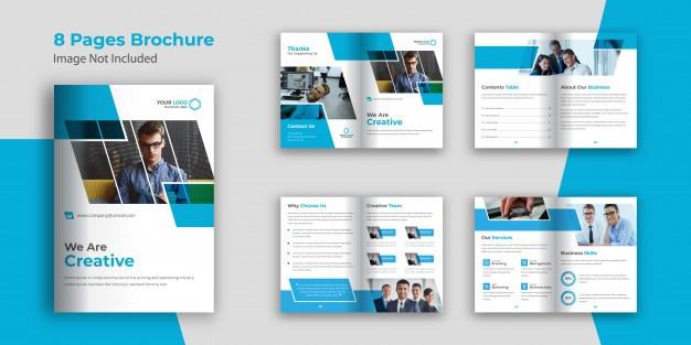 desain company profile perusahaan mineral
