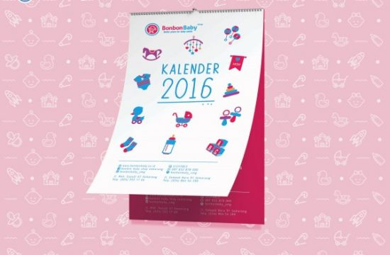 Desain Kalender Unik dan Kreatif