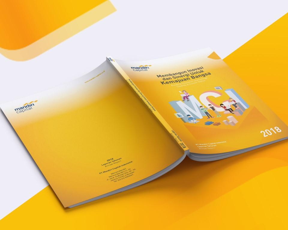Jasa Pembuatan Annual Report PT Mandiri Capital Indonesia 2018 by Sooca Design 1
