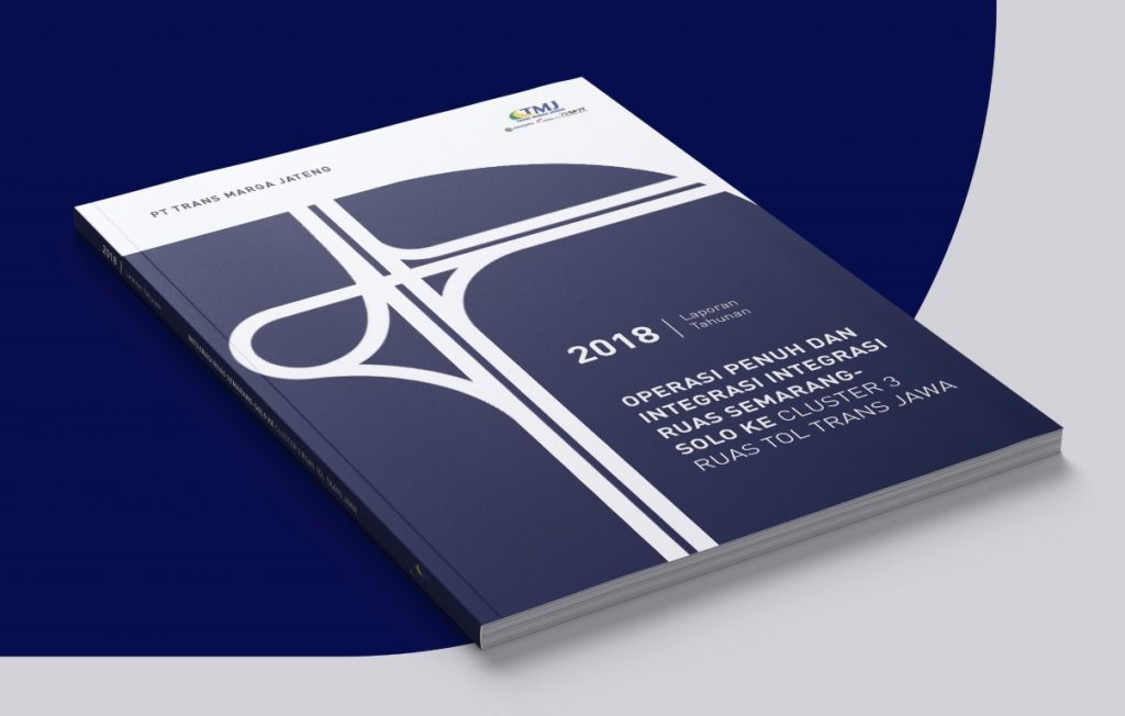 Mockup Annual Report Badan Usaha Jalan Tol (Trans Marga Jateng)