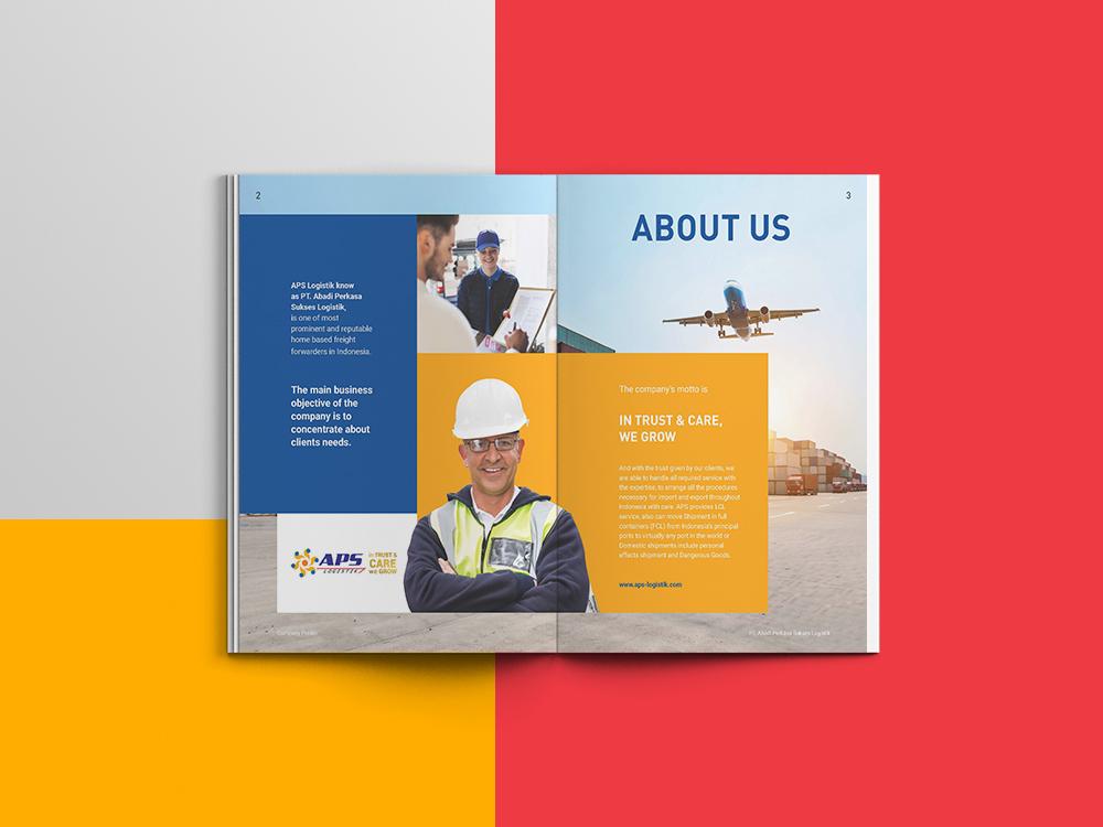 Contoh Company Profile PT Abadi Perkasa Sukses Logistik
