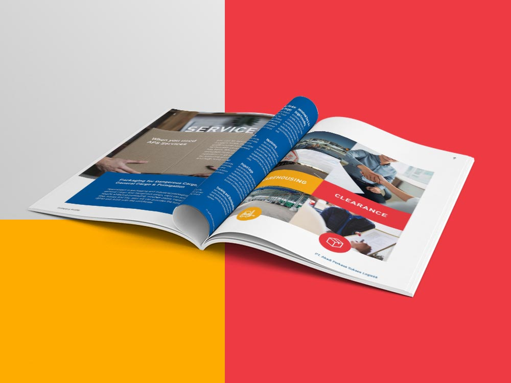 Jasa Pembuatan Company Profile PT Abadi Perkasa Sukses Logistik by Sooca Design