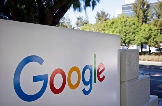 Desain logo perusahaan Google