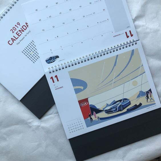 Harga desain kalender Semarang (Kalender Meja Standard)