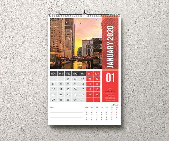Jasa Desain Kalender Berkualitas (Dinding)