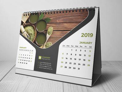 Jasa Desain Kalender Berkualitas (Meja)
