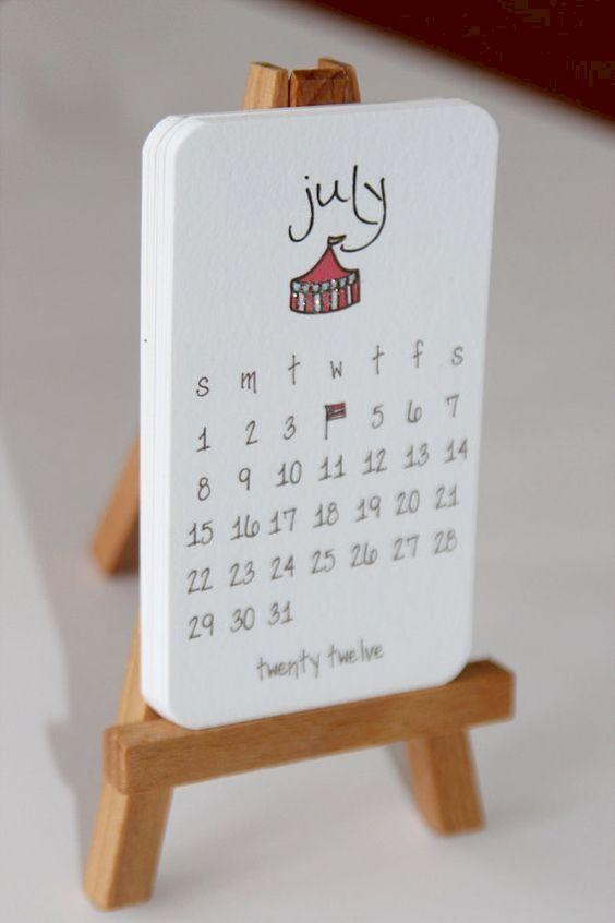 Jasa Desain Kalender Meja 2020 Terbaik di Semarang