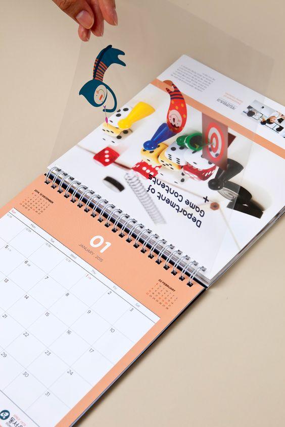 Jasa desain kalender berkualitas di Semarang