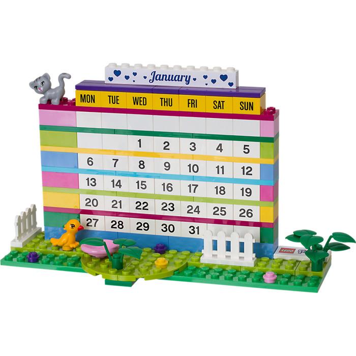 desain kalender 2020 bernbentuk lego