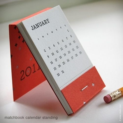 Penawaran harga jasa desain kalender meja modern