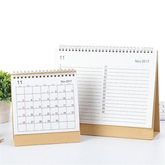 Penawaran harga jasa desain kalender meja polos