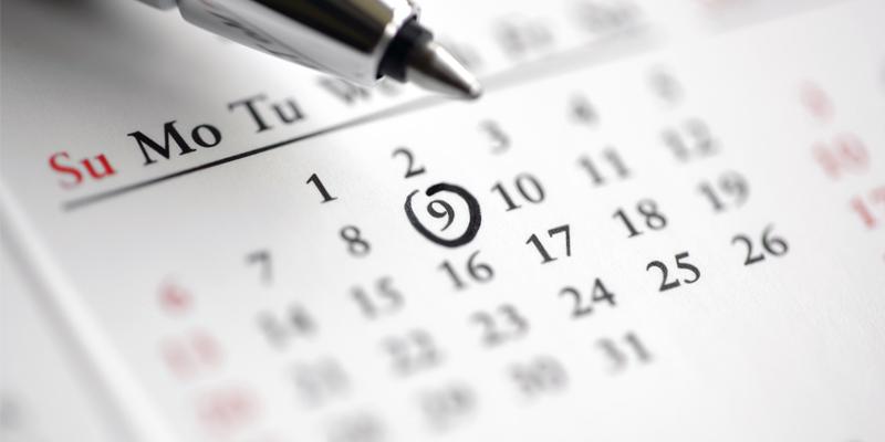 distribusi desain kalender perusahaan