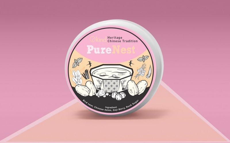 Kemasan Produk Pure Nest