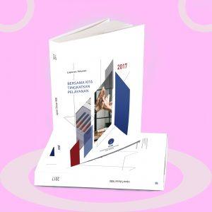 Desain Annual Report Yayasan Kesejahteraan Karyawan Bank Indonesia