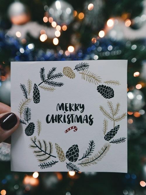 Jasa Desain Kartu Ucapan Natal dan Tahun Baru 2019-2020
