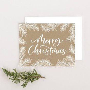 Desain Kartu Ucapan Natal dan Tahun Baru